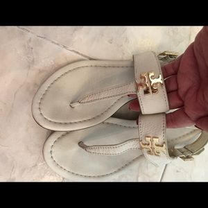 Pre owned TB sandals